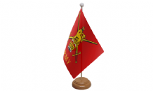 MILITARY WOOD BASED TABLE FLAGS